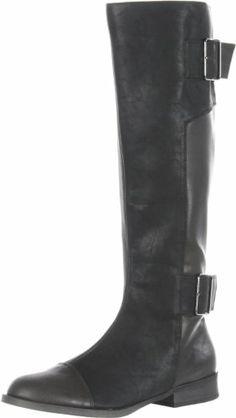 Amazon.com: Michael Antonio Women's Bronson Knee-High Boot:  $53.40 fs