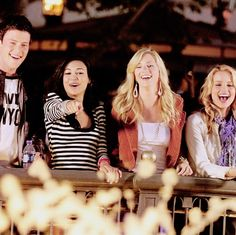 Cory, Naya, Heather, Dianna