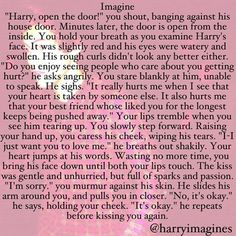 BUT WHAT IF this was a Marcel imagine, guys. Just think about that.