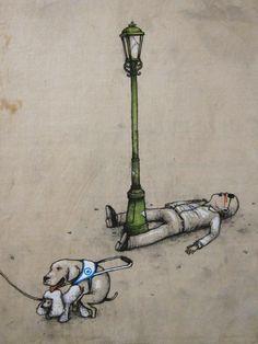 street artist   Dran