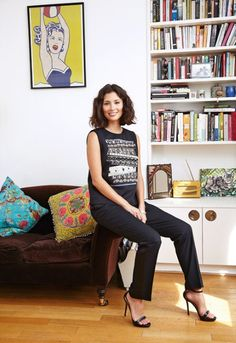 Jasmine Hemsley: The Complete Woman - Telegraph Eclectic Vases, Jasmine Hemsley, Hemsley And Hemsley, Closet Basics, Everyday Look, Style Icons, Spring Fashion, Style Me, Personal Style