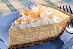 PHILADELPHIA® 3-STEP® Coconut Cheesecake