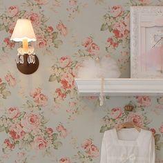 Papel de parede - Floral - Decoração