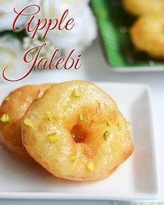 Easy apple Jalebi recipe for Indian #holi festival.