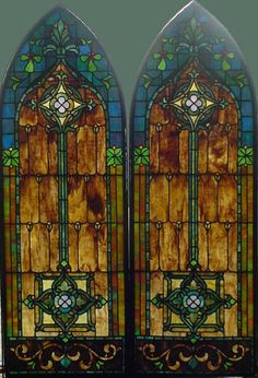 Love this stain glass window