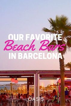 Barcelona's Top 5 oceanfront bars Spain And Portugal, Portugal Travel, Spain Travel, Portugal Vacation, Travel Europe, Barcelona City, Barcelona Travel, Barcelona Food, Amazing Destinations