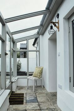 Deirdre's dark, daring cottage on the outskirts of Galway City Cottage House Designs, Cottage Homes, Cottage Extension, Interior And Exterior, Interior Design, Irish Cottage, Cottage Renovation, Cottage Interiors, Living Room Kitchen
