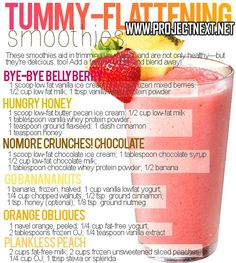 Flat Tummy Smoothies... Think I might use this after the baby is born lol