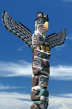 The Art Curator for Kids - Northwest Coast Indian Art Lesson Plans - Totem Pole