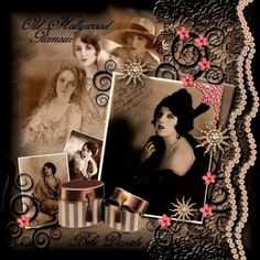 old hollywood scrapbook