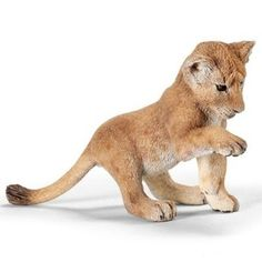 Schleich Lion Cub Playing Wild Life Figurine Toy Model 14377 for sale online Wild Life, Cat Facts Text, Female Lion, Farm Toys, Lion Cub, Models, Big Cats, Pet Toys, Cubs
