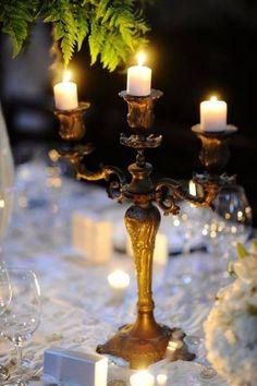 soft candle light
