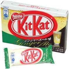 Top Weird Kit Kats | 15 Ginger Ale Kit Kat
