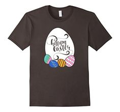 Happy Easter T-shirt Colorful Easter Eggs