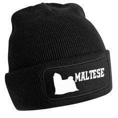 Maltese Beanie Hat Beanies Dog Dogs Malteses Showing Outdoors Warm Outdoors AU Beanies, Beanie Hats, Black Beanie, Shiba Inu, Yorkshire Terrier, Dog Owners, Walking, Bike, Warm
