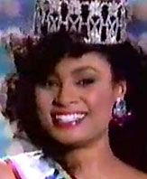 Carole Ann Marie Gist, Miss USA 1990 (Michigan)...the first black woman to win the title