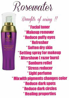 Younique Rose Water Toning Spritz www.thedivadonna.com