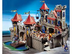 Amazon.de:Playmobil 3268 - Große Königsritterburg - playmobil ritterburg playmobil ritter playmobil knights products play mobil geschenkideen geburtstag playmobil ideen playmobil aufbewahrung -
