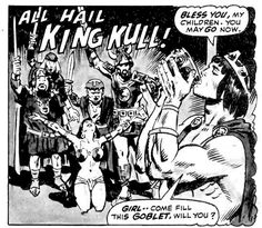 King Kull by Ross Andru and Wally Wood