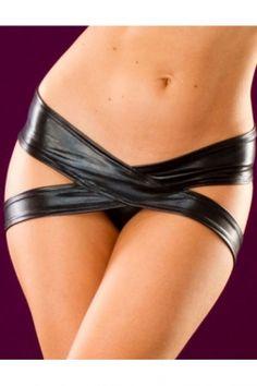 c2c1470cf2 Sizzling Crossed Metallic Panty Black Bra Lingerie