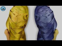 This video shows - How to make Origami Petal Sleeves Designs for Kurti / Origami Petal Sleeves Design for Kameez / Sleeves Design cutting and stitching. Neck Designs For Suits, Sleeves Designs For Dresses, Blouse Back Neck Designs, Sari Blouse Designs, Fancy Blouse Designs, Sleeve Designs, Kurti Sleeves Design, Stylish Blouse Design, Pola Lengan