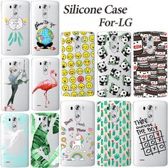 Fashion Soft Lovely TPU Case For LG G3 G4 K10 M2 X Screen / X View K500DS Printing Soft Silicone Phone Cases Back Cover #clothing,#shoes,#jewelry,#women,#men,#hats,#watches,#belts,#fashion,#style