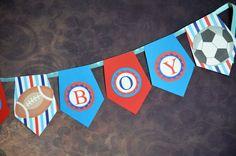 All star sports banner/ Sports Banner/ by LittleOrchidStudio