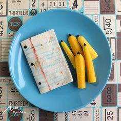 Fun Paper and Pencil Snack (tortilla & yellow carrots!) for Back-to-School by Wendy Copley for Alphamom.com