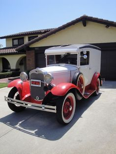 1931 Ford Model A Panel Truck.