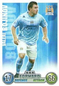 2007-08 Topps Premier League Match Attax #176 Valeri Bojinov Front
