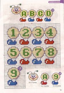 Borges Ponto Cruz: Gráficos Alfabeto Centopeia Plastic Canvas Letters, Mermaid Toys, Cross Stitch Letters, Coloring Book Art, 3d Paper Crafts, Alphabet And Numbers, Canvas Patterns, Cross Stitching, Stitch Patterns
