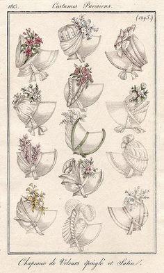 1813 Costumes Parisiens (plate 1295)