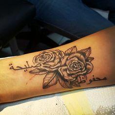 Tattoo arabisch rosen smalltattoos
