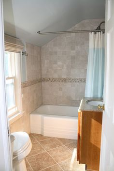 Small Bathroom Vintage Remodel small spa bathroom designs | spa-like remodel of a small bathroom