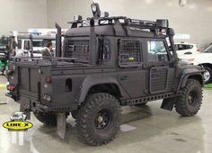 Best Land Rover Models : Illustration Description LandRover Defender by Line-X -Read More – Landrover Defender, Land Rover Defender 130, Land Rovers, Iveco 4x4, Carros Suv, M Bmw, Automobile, Bug Out Vehicle, Zombie Vehicle
