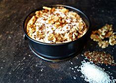 kleine-monchou-walnoten Dutch Recipes, Baking Recipes, Sweet Recipes, Cake Recipes, Healthy Sweets, Healthy Baking, Baking Bad, Caramel Recipes, Special Recipes