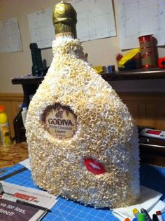 Godiva Liquor Bottle Pinata by PinataVille on Etsy, $65.00