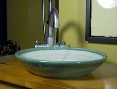 Ed Racicot Art Sinks | Small Bathroom Sinks | Hand Painted Sinks ...