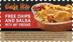 CAFE RIO - FREE-CHIPS COUPON