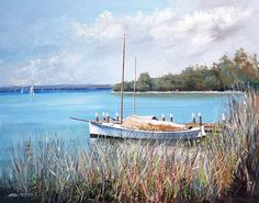 'Peaceful Morning' by Stan Perkins www.artpublishing.com.au