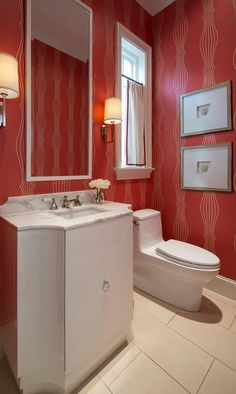 Grand Kitchen & Bath provides the finest custom kitchen, bathroom and home remodeling services to our clients in the Tampa Bay area. Grand Kitchen, Kitchen And Bath, Coral Bathroom, Colonial Style Homes, Bathroom Wallpaper, Red Walls, Beautiful Bathrooms, Bathroom Inspiration, Bathroom Ideas