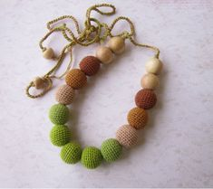Baby teething necklace for mommy to be gift new mom gift expecting mom gift nursing necklace breastfeeding necklace sensory chew necklace Teething Necklace For Mom, Nursing Necklace, Bead Crochet, Crochet Necklace, Breastfeeding Necklace, Montessori Baby Toys, Wooden Baby Toys, Linen Bag, Craft Box