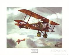 Sopwith Camel, 1917 Poster by Alfred Owles at AllPosters.com #$12.99 (20x16)