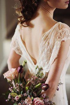 Belle Epoque wedding dress ⎪ruudC Fotografie ⎪see more on: http://burnettsboards.com/2015/08/vintage-belle-epoque-edwardian-wedding-dresses/