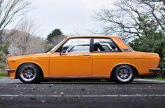 Datsun 510 Bluebird by hightopfade, via Flickr