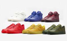 Shop Nike Air Force 1 city collection: New York, London, Paris, Milan, Tokyo and Shanghai - LaiaMagazine