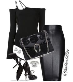 ❤️Sundays Are The Best❤️ DETAILS: Bodysuit #Davidkoma Skirt #Intermixonline Bag #Gucci Shoes #Rogervivier #Styledbyfashionkill21