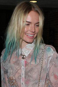 chalked hair - kate bosworth