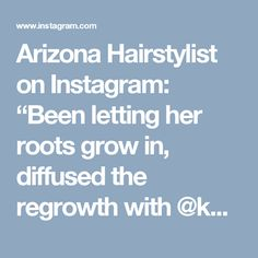 """Arizona Hairstylist on Instagram: """"Been letting her roots grow in, diffused the regrowth with @kenraprofessional 7sm+8vm 9vol for 15mins. Textured out her pixie and detailed…"""""""