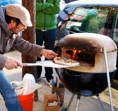 Webber Pizza Oven Hack · Pizza HackerDiy ...